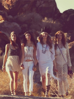 Free People April 2012 Catalog