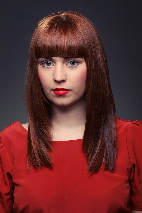 New Blunt Bangs Hairstyle Ideas