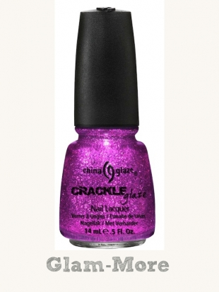 China Glaze Crackle Glitters Glam-More