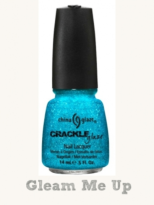 China Glaze Crackle Glitters Gleam Me Up