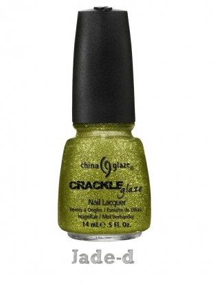 China Glaze Crackle Glitters Jade-d