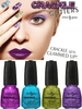 China Glaze Crackle Glitters Summer 2012 Nail Polishes