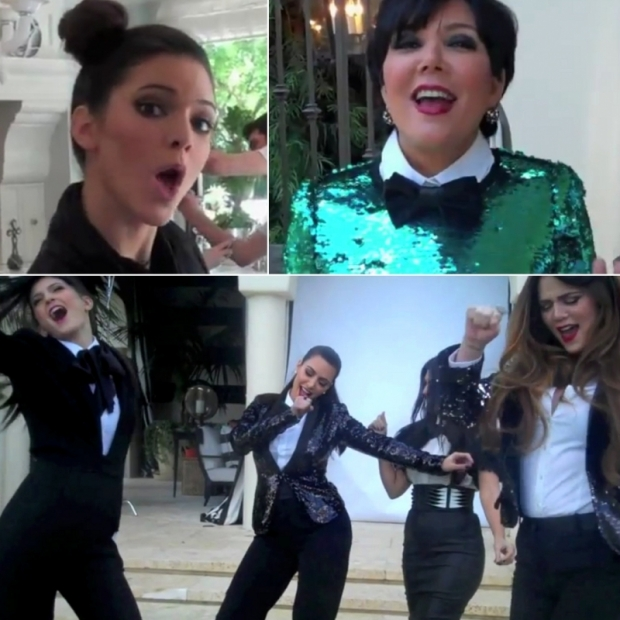 The Kardashians Drop Lady Marmalade Family Fun Music Video
