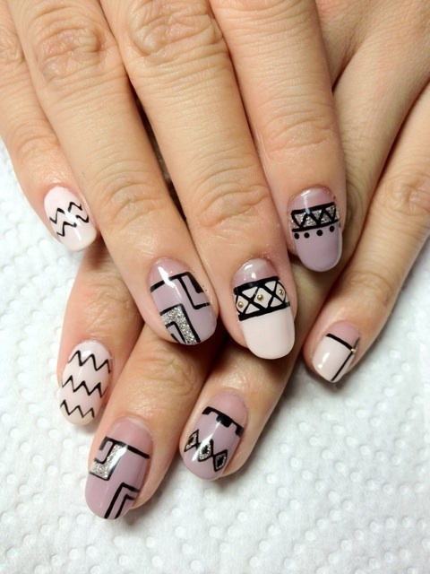 Pictures of cool nail designs nail designs hair styles tattoos and fashion heartbeats Cool nail design ideas at home
