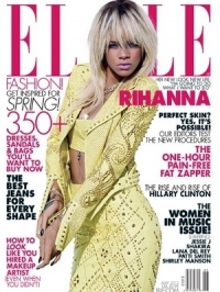 Rihanna Talks Chris Brown with Elle May 2012