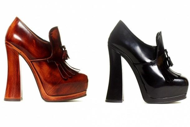 Miu Miu Fall 2012 Shoes Collection