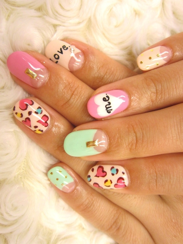 Beauty-Fashion Uncensored: Multi-Color Nail Art Ideas