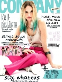 Kate Bosworth Covers Company May 2012