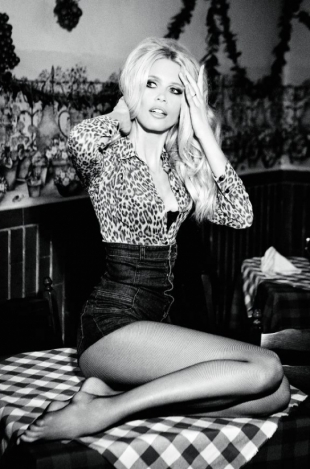 Claudia Schiffer for Guess 30th Anniversary Ad Campaign