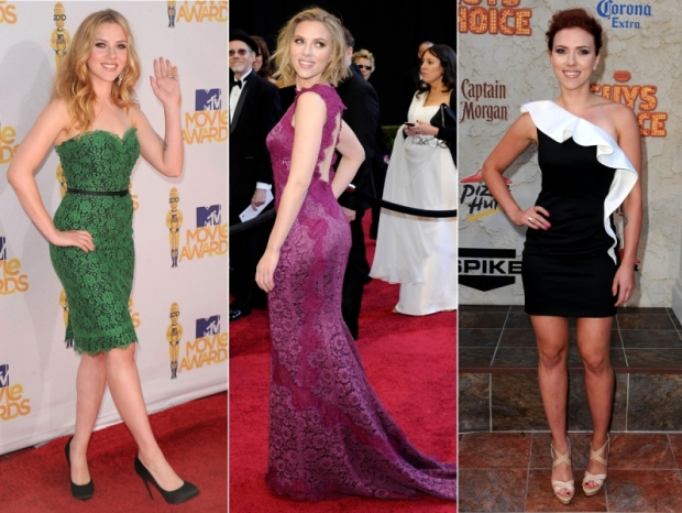 Scarlett Johansson Red Carpet Looks