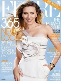 Scarlett Johansson Covers Flare May 2012
