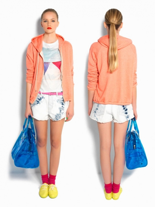 Pull & Bear Neon Flash Spring/Summer 2012