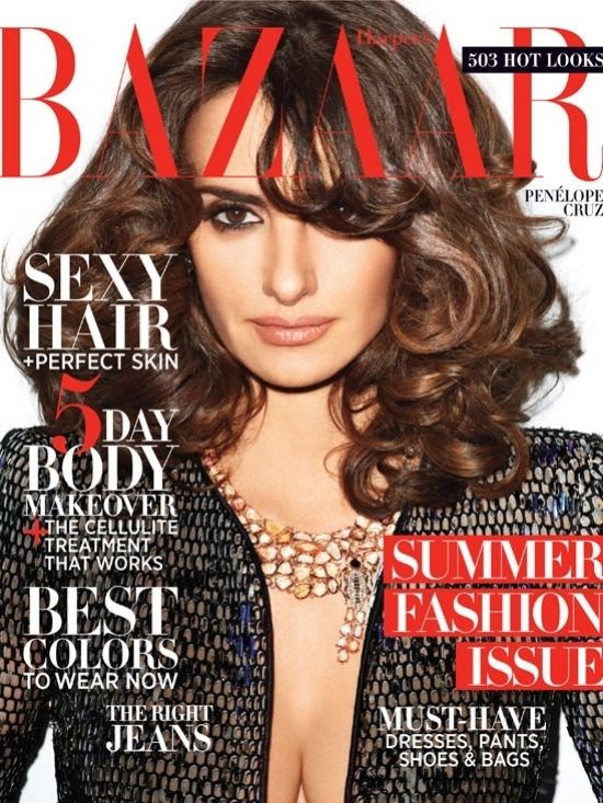 Penélope Cruz Covers Harper