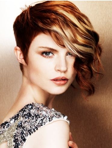 how to make hair style chic looking hair highlights 2012 8604