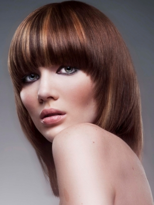 Natural-Looking Hair Highlights 2012