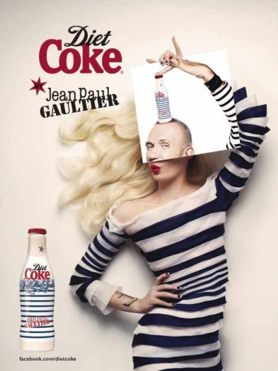 Diet Coke by Jean Paul Gaultier Campaign