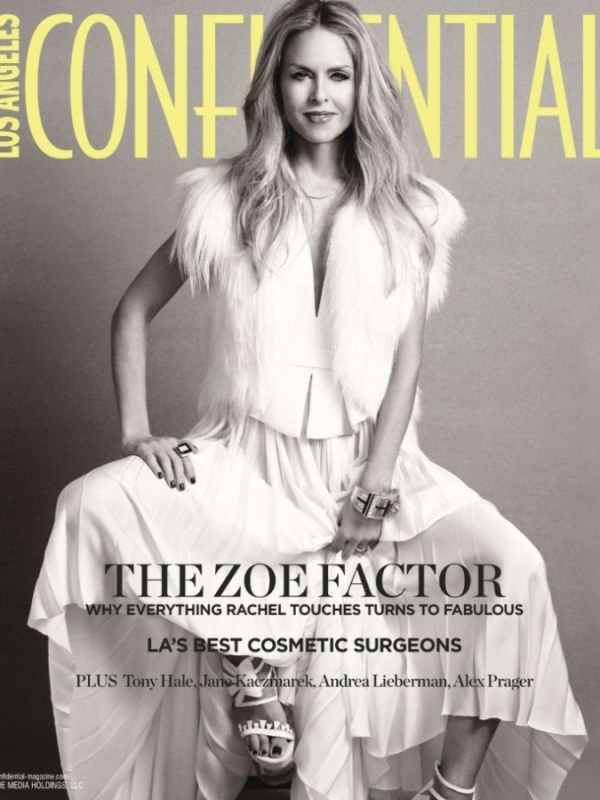 Rachel Zoe Covers Los Angeles Confidential April/May 2012