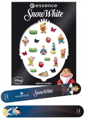 Essence Snow White Nail Stickers Files