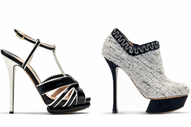 Nicholas Kirkwood Fall 2012 Shoes