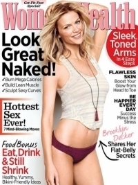 Brooklyn Decker Shares Diet and Fitness Secrets with Women's Health May 2012