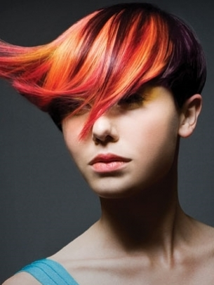Dramatic Hair Color Idea