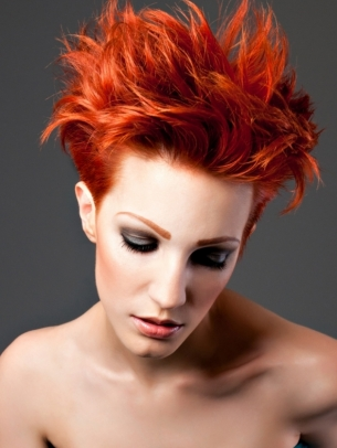Dramatic Hair Color