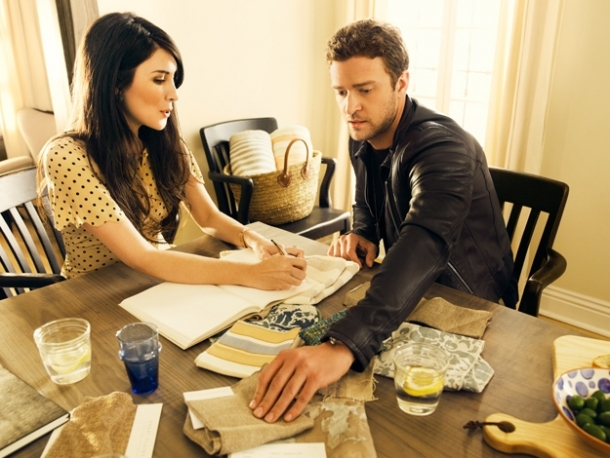Justin Timberlake to Design a Line of Home Goods