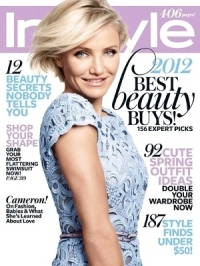 Cameron Diaz Covers InStyle May 2012