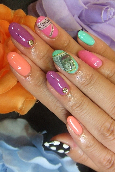 Teen perfect nail art designs for summer prinsesfo Images