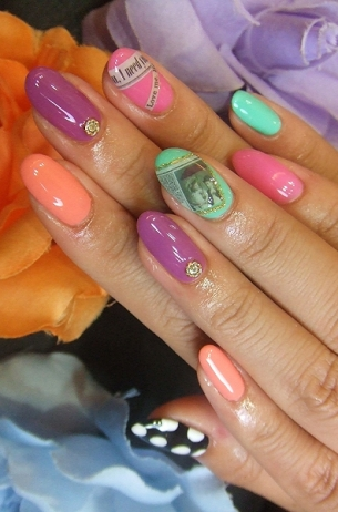 Nail Art Design 2014 Teen Perfect Nail Art Designs For Summer