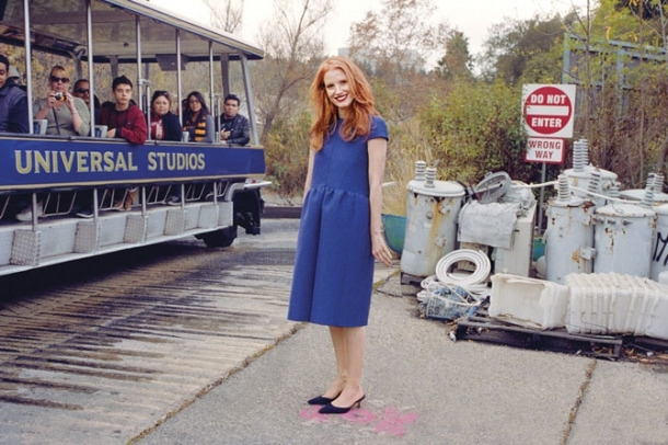 Jessica Chastain for T Magazine Summer 2012