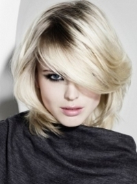 Creative Medium Haircuts for Spring