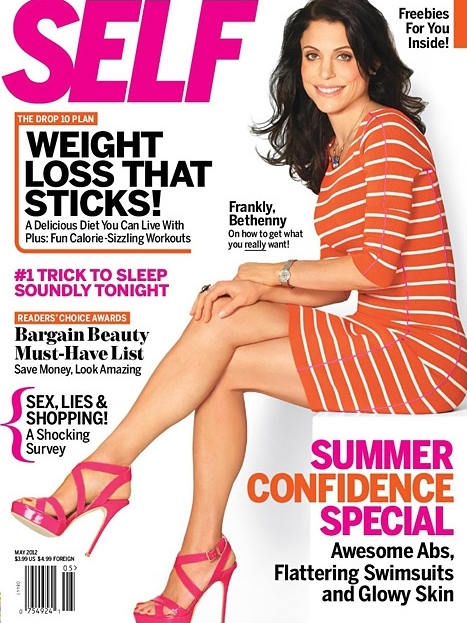 Bethenny Frankel Talks Diet and Being Honest with SELF May 2012