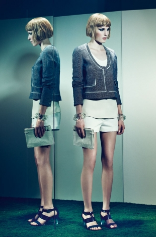 Uterqüe Androgynous Lookbook Spring/Summer 2012