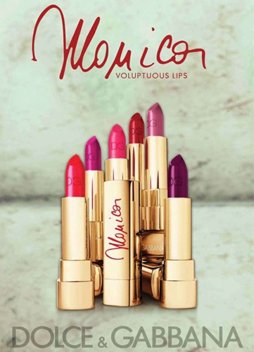 Dolce And Gabbana Monica Lipstick Collection 2012