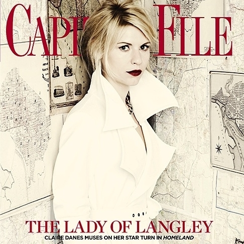 Claire Danes Covers Capitol File May/June 2012