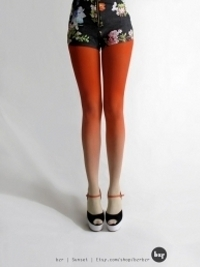 Spring Trend Alert! Ombre Tights