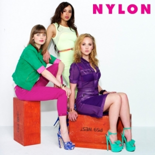 Zoe Kravitz, Juno Temple and Bella Heathcote Cover NYLON May 2012