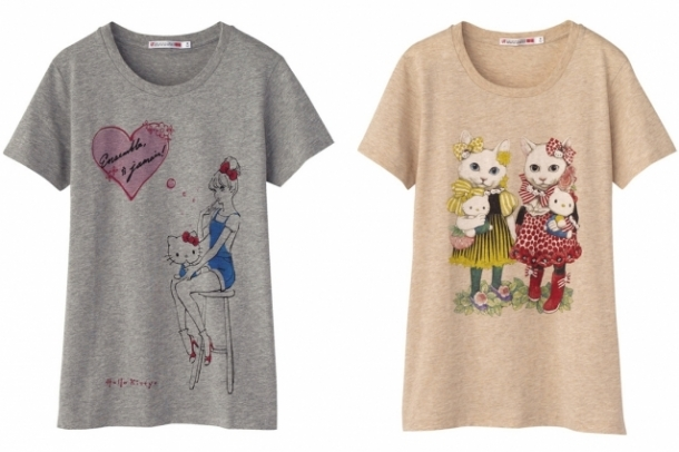 Hello Kitty UNIQLO T-Shirt Collection