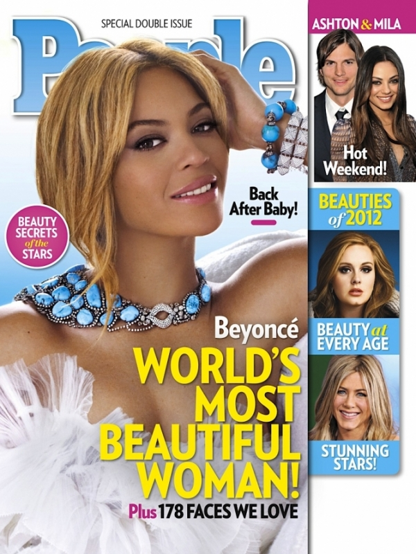 Beyonce Named Peoples 2012 World