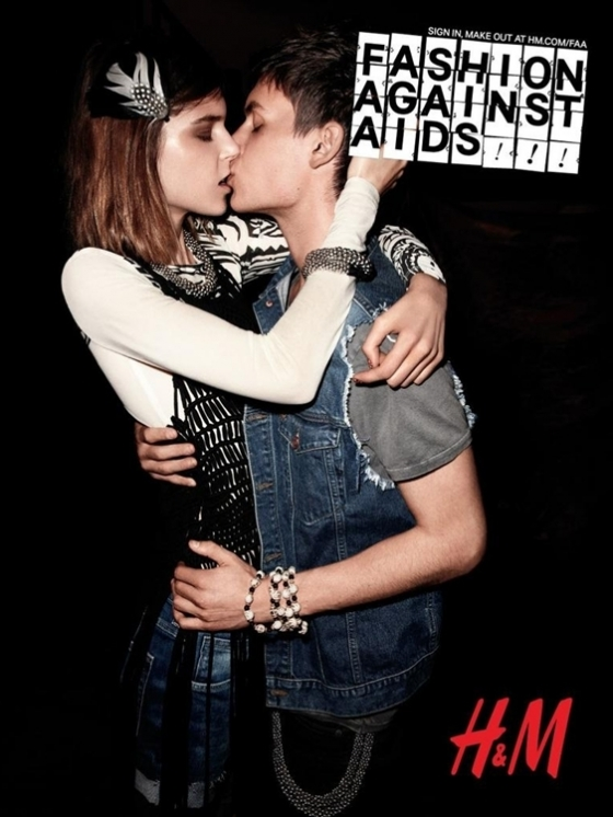 H&M Fashion Against AIDS Summer 2012 Campaign