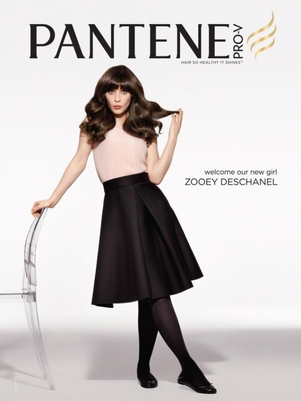 Zooey Deschanel for Pantene