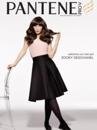 Zooey Deschanel Is Pantene's New Face