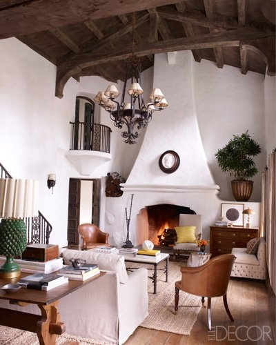 Reese Witherspoon S Ojai Home In Elle Decor September 2012