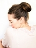 How to Style a Chic Chestnut Bun