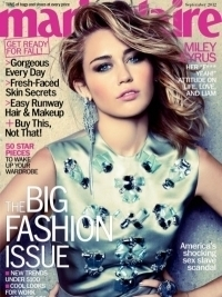 Miley Cyrus Covers Marie Claire September 2012