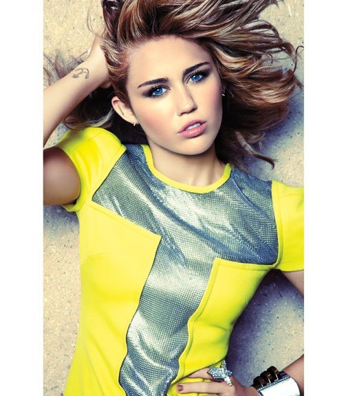 Miley Cyrus: Miley Cyrus Covers Marie Claire September 2012