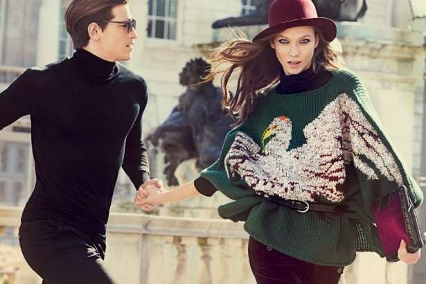 Karlie Kloss for Stefanel Fall/Winter 2012 Campaign