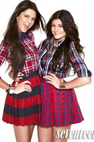 Kendall and Kylie Jenner Cover Seventeen September 2012