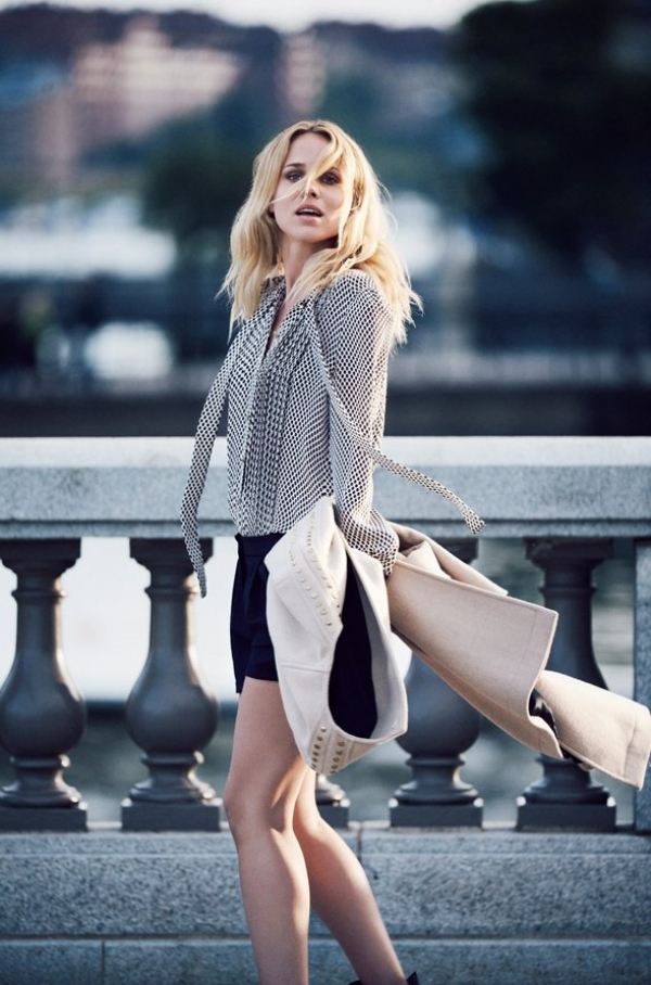 Elin Kling for Hoss Intropia Fall 2012 Collection